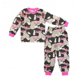 Пижама для девочки Зайки, розовый