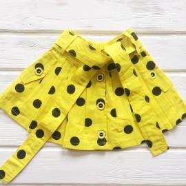 Юбочка для девочки,  желтый