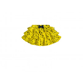 Юбочка для девочки Звездочки,  желтый