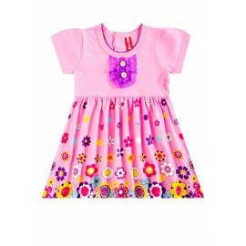 Платье для девочки Цветочный вальс, розовый