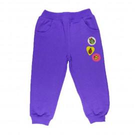 Брюки для девочки, фиолетовый