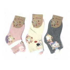 Носки для девочек Ушки, микс