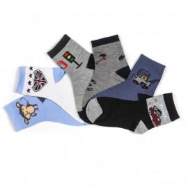 Носки для мальчика Принт, микс