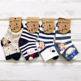 Носки для мальчиков Ушки, микс