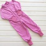 Комбинезон флисовый Салют, розовый