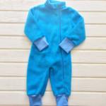 Комбинезон флисовый Малыш, голубой
