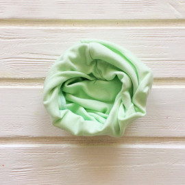 """Снуд """"труба"""" одноцветный, светло-зеленый"""