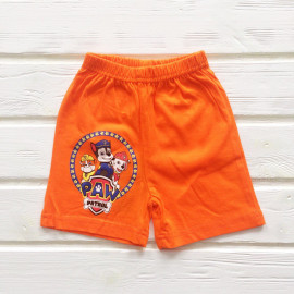 Шорты для мальчика Щенки, оранжевый