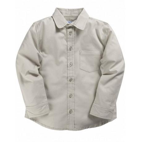 Рубашка для мальчика классическая, серый