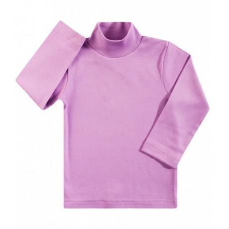 Водолазка детская однотонная интерлок, лиловый