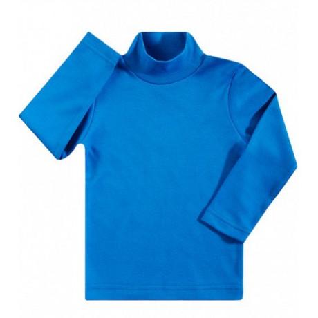 Водолазка детская однотонная интерлок, светло-голубой
