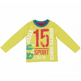 Лонгслив для мальчика Спорт15