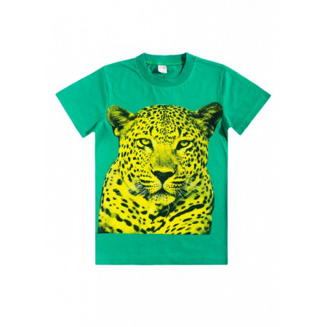 Футболка для мальчика Леопард