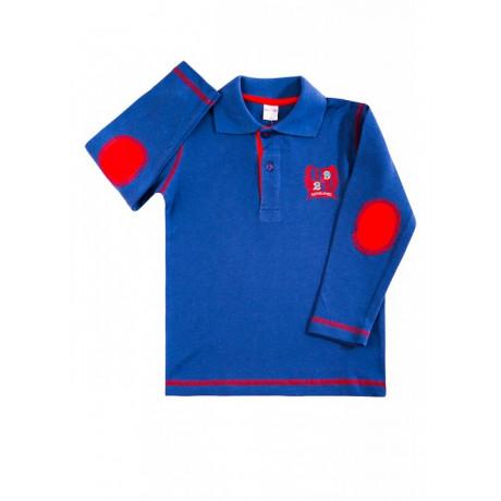 Рубашка поло для мальчика Бонито, синий