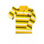 Рубашка поло для мальчика Полоска, желтый