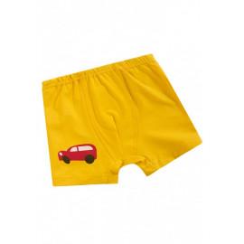 Трусы боксеры для мальчика Купе, желтый