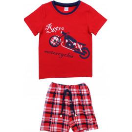 Костюм для мальчика Мотоцикл, красный