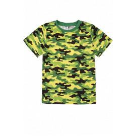 Футболка для мальчика Камуфляж, зеленый