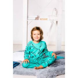 Пижама детская Bananas, бирюзовый