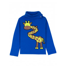 Водолазка для мальчика Tall giraffe. электрик