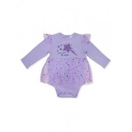 Боди-платье для девочки Волшебница, фиолетовый