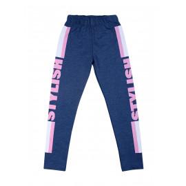 Лосины для девочки Стиль, джинсовый