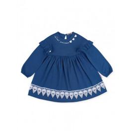 Платье для девочки Принцесса, джинсовый