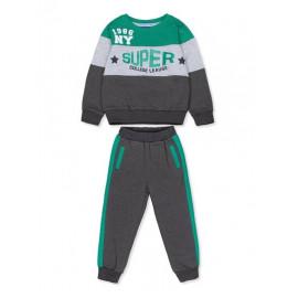 Костюм для мальчика Супер, зеленый