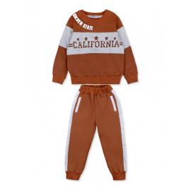 Костюм для мальчика Калифорния, коричневый