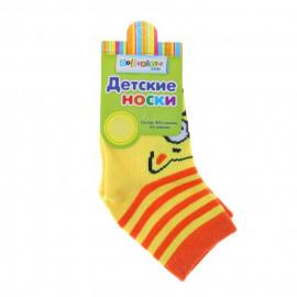 Носки детские Котик, желтый