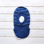 Шлем для мальчика трехслойный, синий