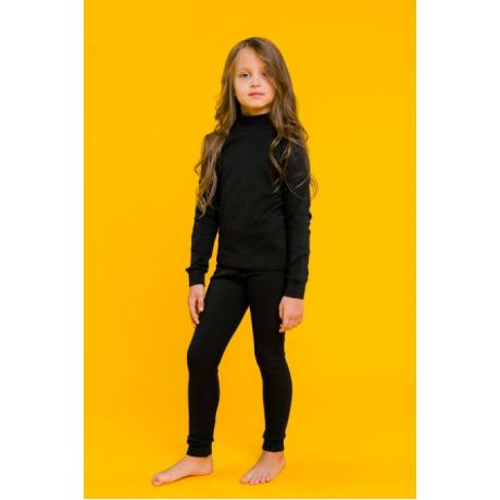 Комплект для девочки (термо), черный
