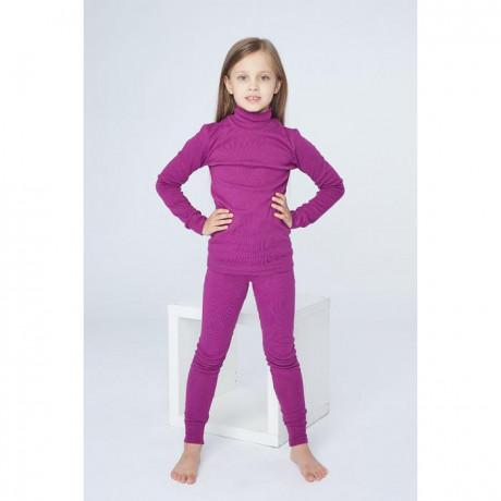 Комплект для девочки (термо), фиолетовый