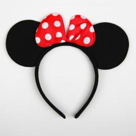 Карнавальный ободок Мышка с бантиком