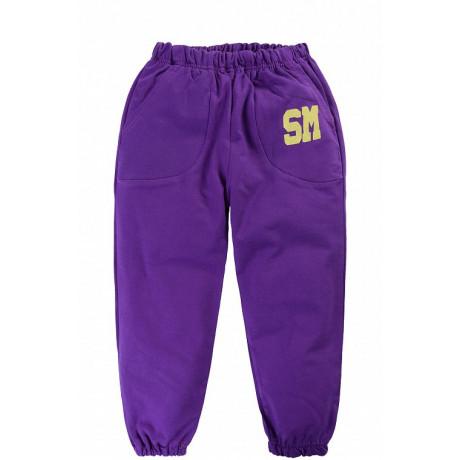 Брюки для девочки СМ, фиолетовый