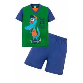 Костюм для мальчика Кроко, зеленый