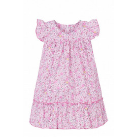 Платье для девочки Цветочки, светло-розовый