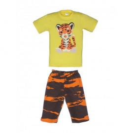 Костюм для мальчика Тигр, желтый
