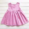 Сарафан для девочки Цветы, розовый