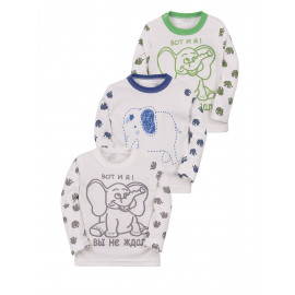 Кофточка для малышей Слоны, микс