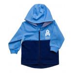 Курточка трикотажная ясельная, голубой