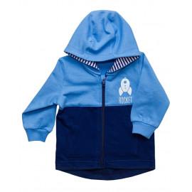 Куртка трикотажная ясельная, голубой