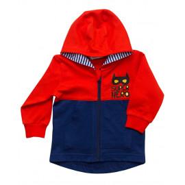 Курточка трикотажная ясельная, красный