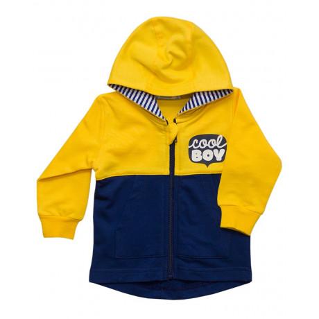Курточка трикотажная ясельная, желтый