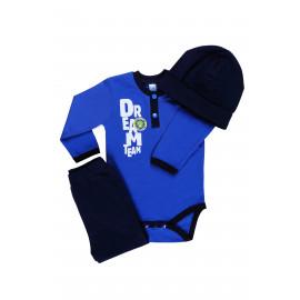 Комплект ясельный для мальчика Мечта, синий