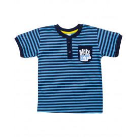 Футболка для мальчика Полоски, голубой