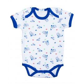 Боди для малышей Щенки, синий