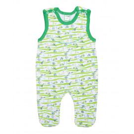 Полукомбинезон для новорожденных Рыбки, зеленый