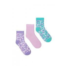 Носки детские Тетрис  (набор 3 шт), микс